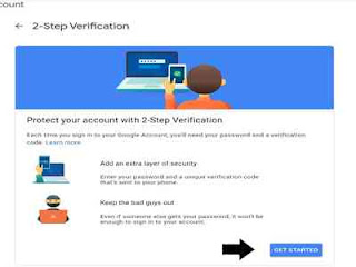 Mulai membuat verifikasi dua langkah