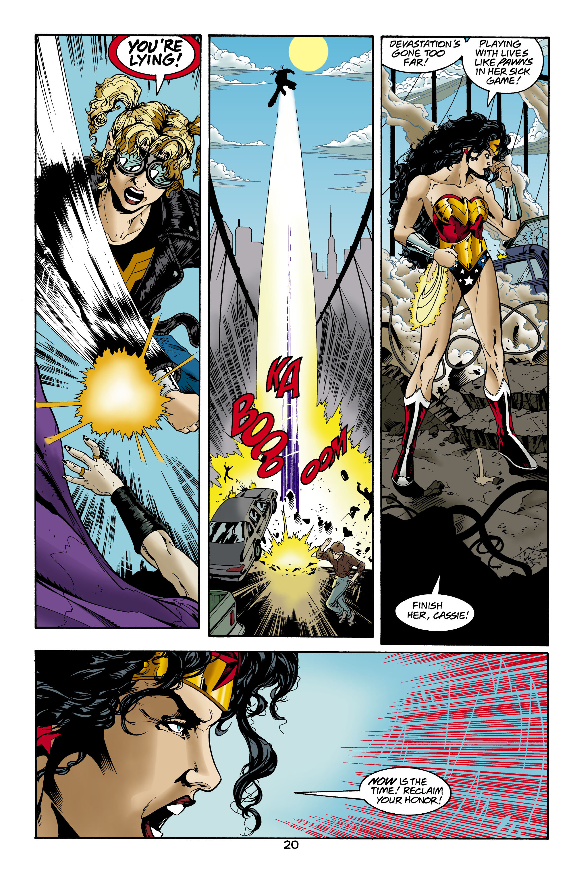 Read online Wonder Woman (1987) comic -  Issue #157 - 21