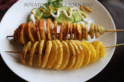 kids snack potato snack crispy delicious potato fries in a skewer quick snack for party