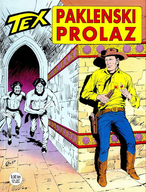 Paklenski prolaz (SD) - Tex Willer