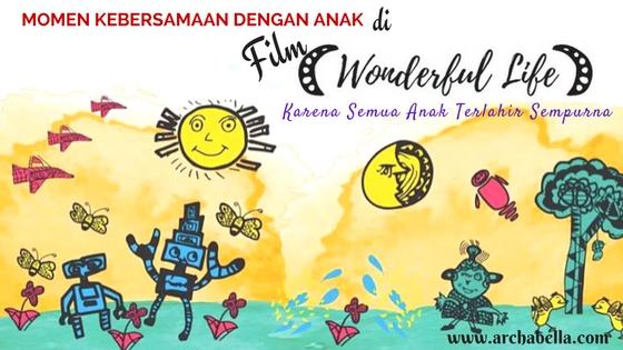 gambar ilustrasi Aqil, penyandang Disleksia dalam film Wonderful Life
