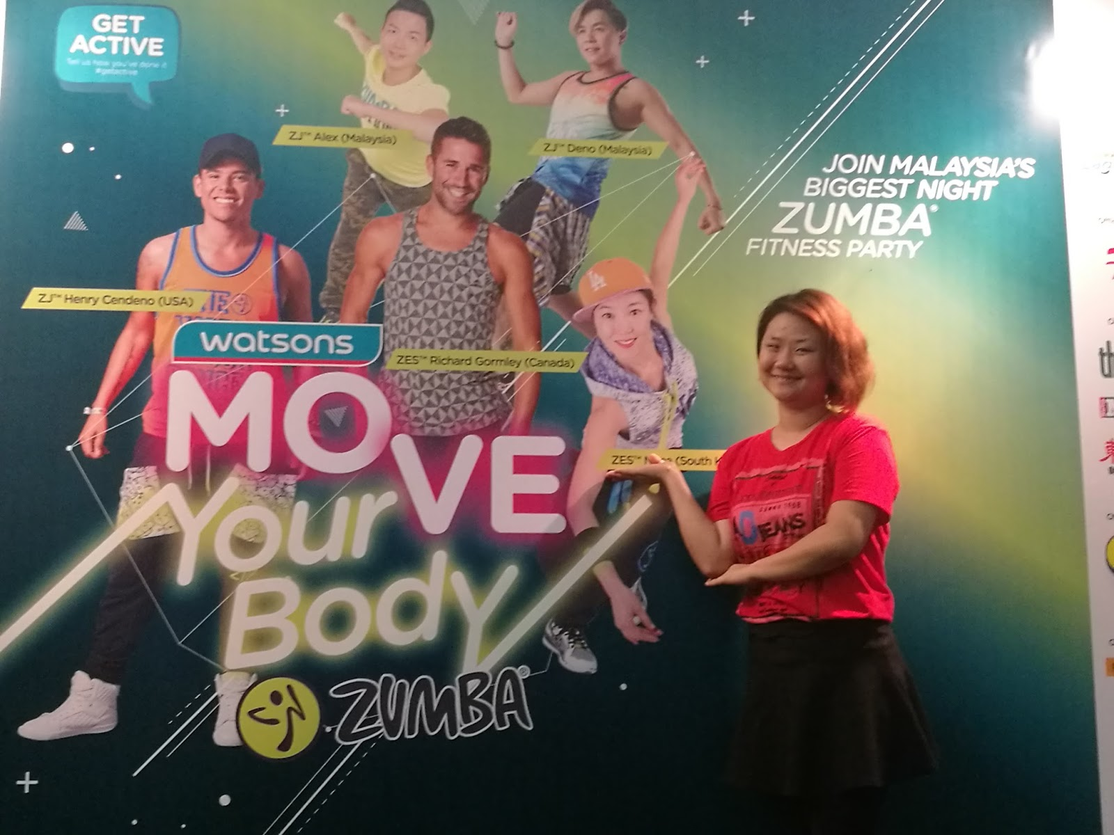 Watsons Move Your Body Zumba 2017 Wendy
