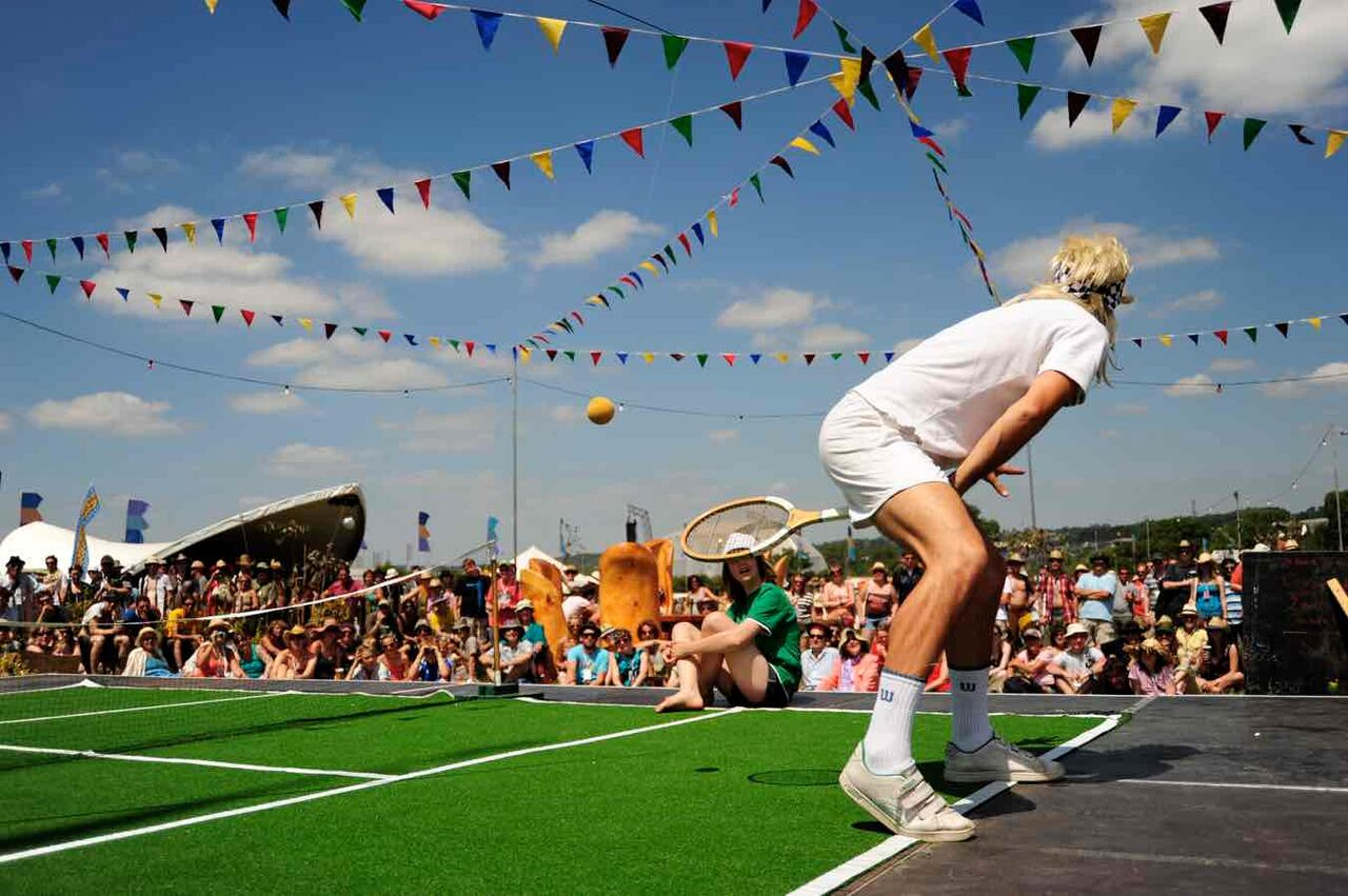 Great Exhibition of the North - What's On For Kids & Teens | Gateshead Quays  - Anyone for tennis