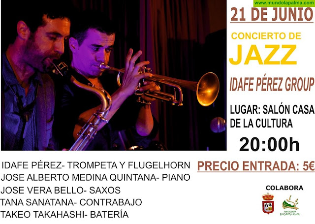 """Concierto Jazz """"Idafe Pérez Group"""" en Puntagorda"""