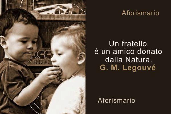 Amato Aforismario®: Fratelli - Aforismi, frasi e proverbi XV65