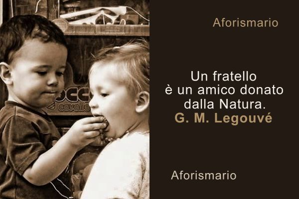 Fabuleux Aforismario®: Fratelli - Aforismi, frasi e proverbi AD82
