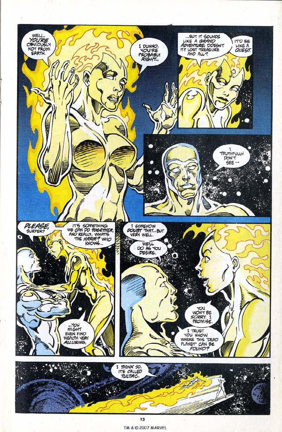 Read online Silver Surfer (1987) comic -  Issue #97 - 15
