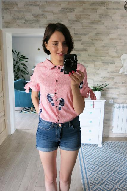 Striped blouse | Bluzeczka w drobne paseczki