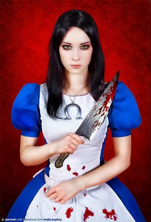 Enji Night Alice Cosplay Jepang