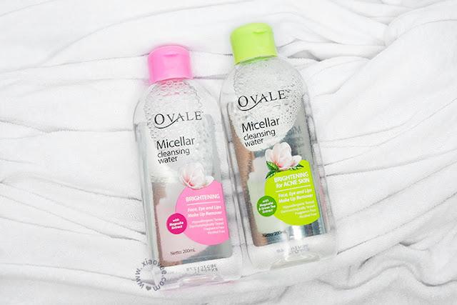 Ovale, Ovale Micellar Water, Pembersih Wajah, Rekomendasi Micellar Water, skin care, Ovale Micellar Cleansing Water Review