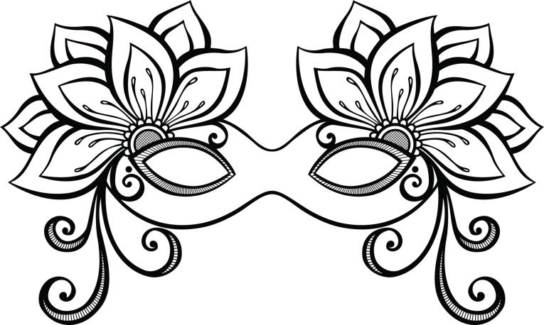 Professora Michelle Modelos De Máscaras De Carnaval