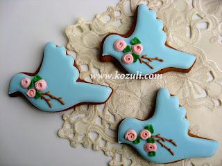 Пасхальное печенье, пасхальные пряники Весенние птички. Роспись пряников и имбирного печенья сахарной глазурью (айсингом), видео мастер-класс