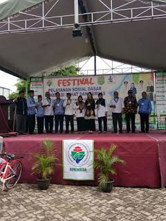 Arumi Bachsin Buka Festival Pelayanan Sosial Dasar Program Generasi Sehat
