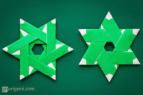 origami instructions art and craft ideas: origami throwing star frisbee | 334x500