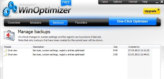 تحميل برنامج إصلاح مشاكل الويندوز Ashampoo+WinOptimize
