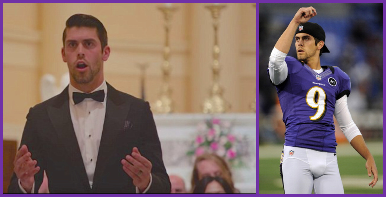 c5e514e7f BARIHUNKS ®: Is Justin Tucker kicking around a singing career?