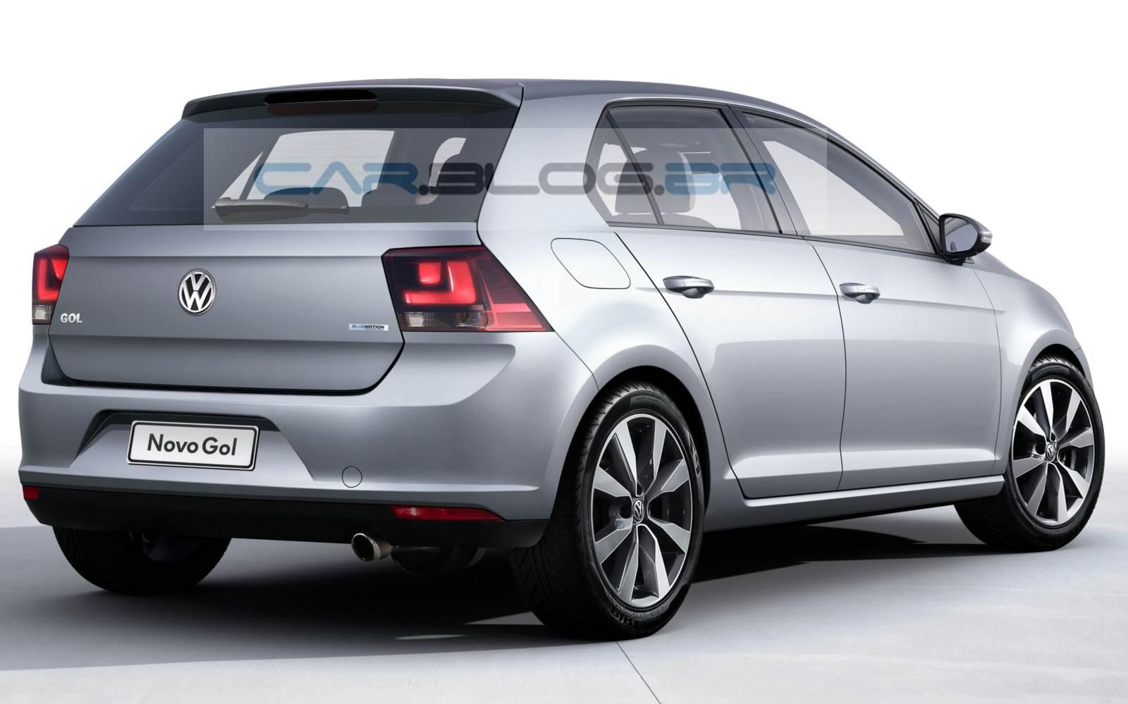 Novo VW Gol 2016 - traseira