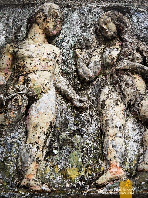 Malabon Cemetery Adam Eve