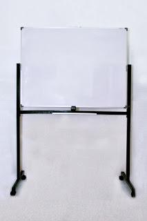 whiteboard standing kaki