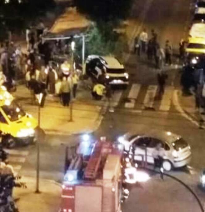 Terrassa En La Mira Cuatro Heridos Al Chocar Un Coche