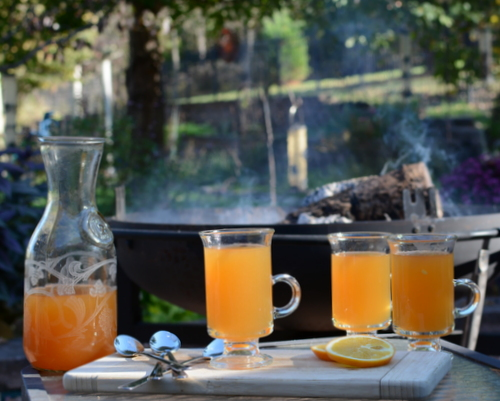 Mulled Apple Cider ♥ KitchenParade.com