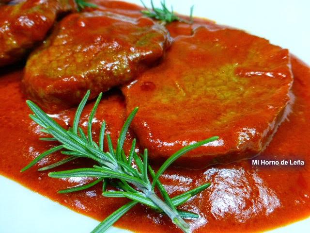 redondo en salsa