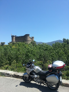 ruta en moto por Gredos