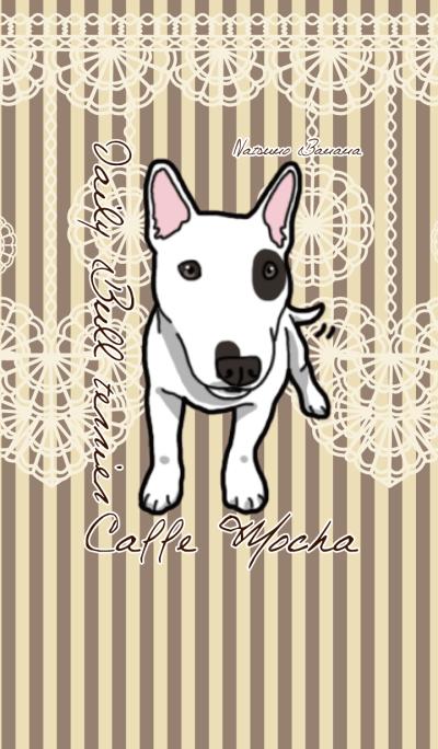 Daily Bull terrier Caffe Mocha