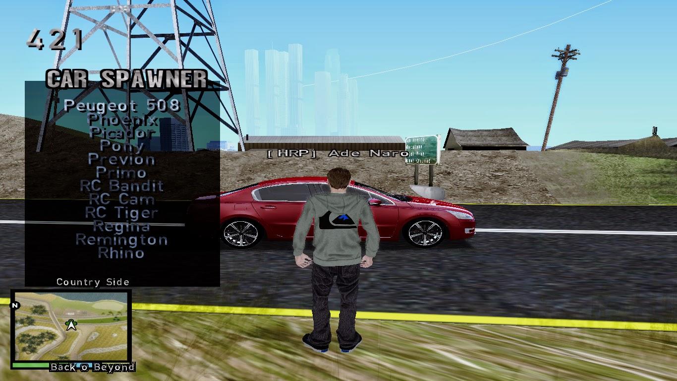 Vehicle Spawner Gta San Andreas 1