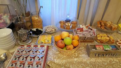 Café da manhã do Bagliori Hotel