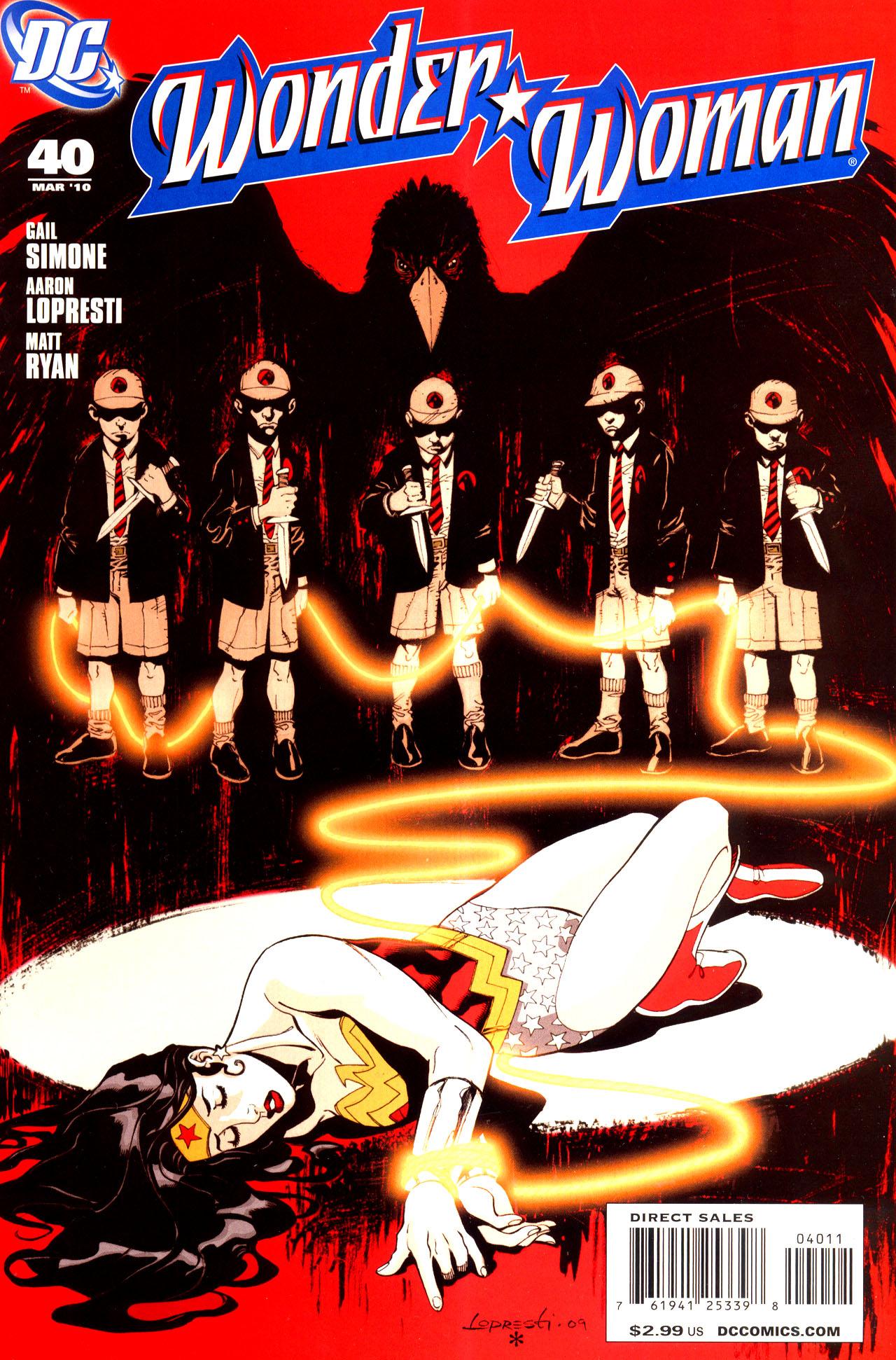Read online Wonder Woman (2006) comic -  Issue #40 - 1