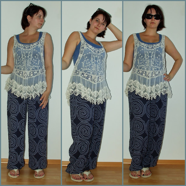 [Fashion] Arabian Nights Haremshose, Pumphose, Pluderhose & Spitzentop