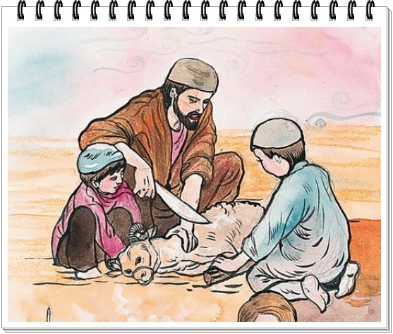 gambar kisah nabi ibrahim dan ismail lengkap