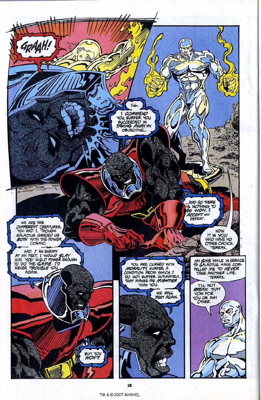 Read online Silver Surfer (1987) comic -  Issue #97 - 30