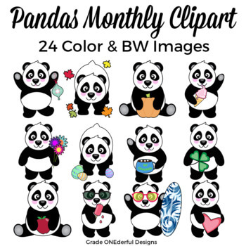 https://www.teacherspayteachers.com/Product/Panda-Bear-Clipart-for-All-Seasons-Includes-BW-1134347