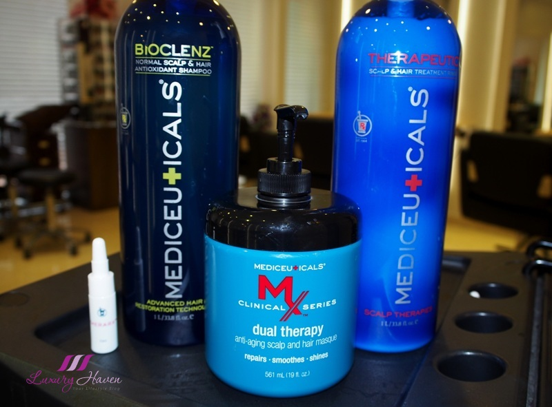 georgina salon mediceuicals scalp hair solutions review