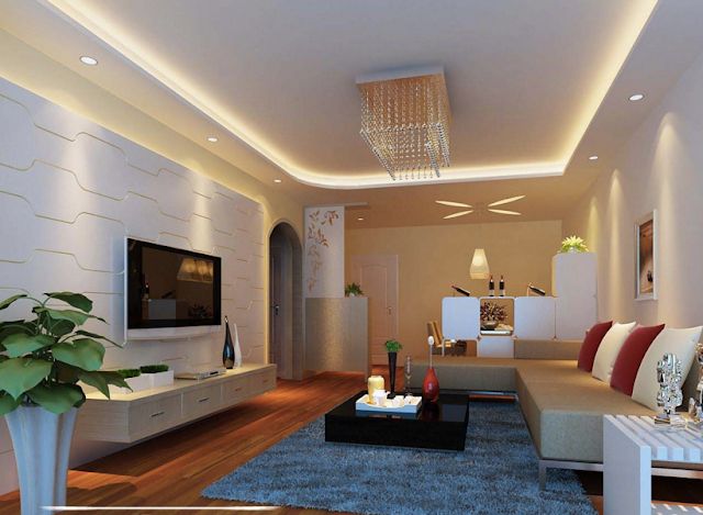 Small Asian Chinese Style Living Room Designs Ideas