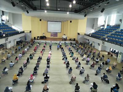 130 Peserta Ikuti Try Out Akbar SIPENMARU POLTEKKES Makassar 2017