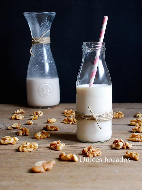 Leche de nueces - Dulces bocados