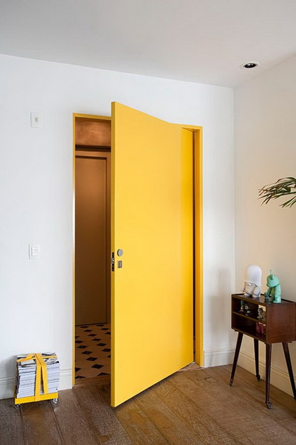 Colored Interior Doors 10