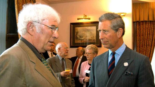 Prince Charles to launch National Poetry Day with Heaney poem
