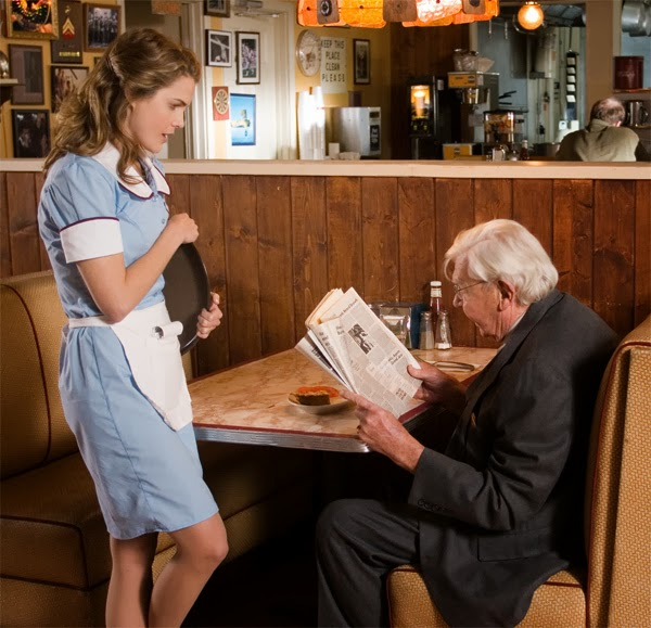 jenna ve joe waitress