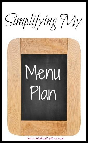 Simpler Menu Planning - chieffamilyofficer.com