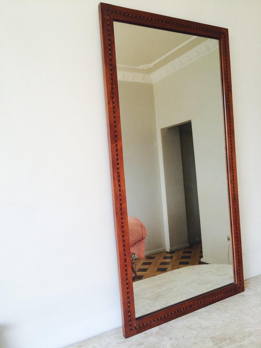 a15df0595 Espelho Com Marqueterie - anos 50/60