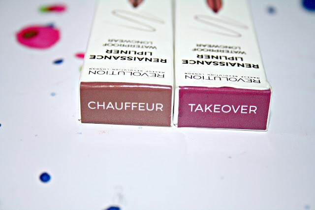 Makeup Revolution Renaissance Lipliners