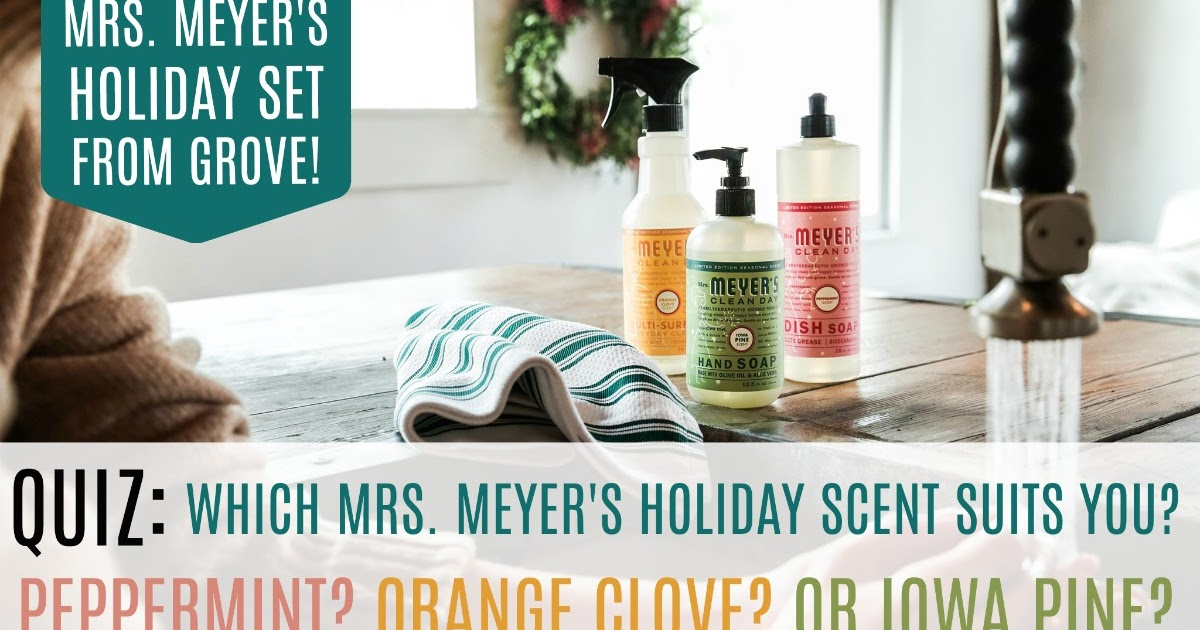 Mrs Meyer S Geranium Room Freshener