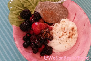 Chia Pudding with Yogurt and Berries