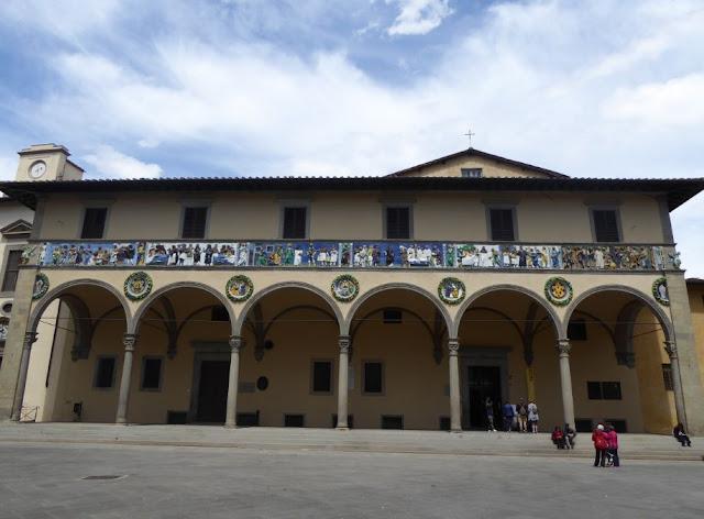 Ospedale del Ceppo a Pistoia