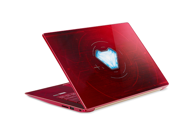 "Acer Swift 3 - Marvel ""Avengers: Infinity War"" Iron Man Edition"