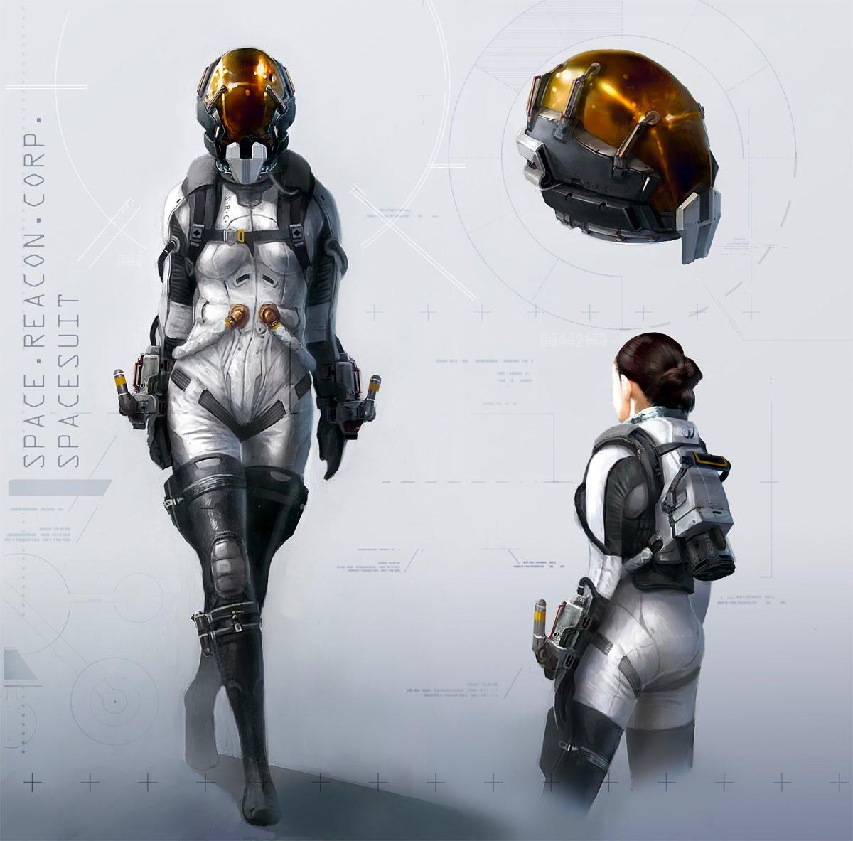 Inkertone: SRC Spacesuit